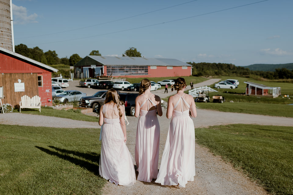 Gilbertsville barn wedding