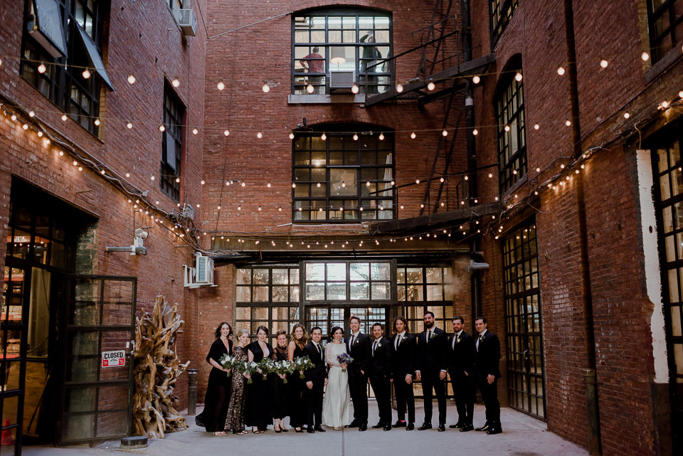 Greenpoint Loft Wedding Brooklyn Wedding Photographer
