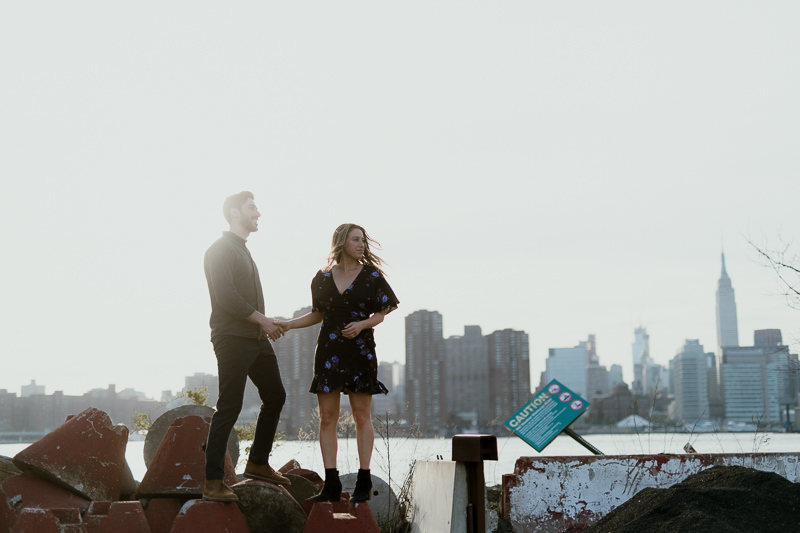 brooklyn-photographers-33 Winter Engagement Shoot in Brooklyn