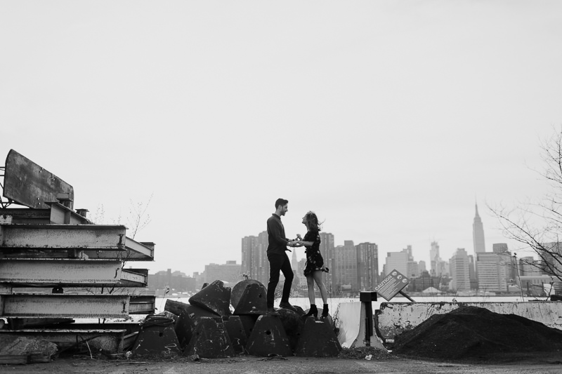brooklyn-photographers-34 Winter Engagement Shoot in Brooklyn
