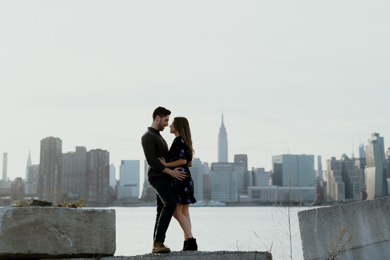 brooklyn-photographers-36 Winter Engagement Shoot in Brooklyn