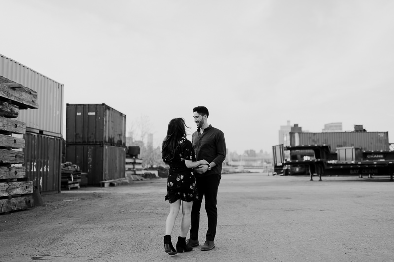 brooklyn-photographers-38 Winter Engagement Shoot in Brooklyn