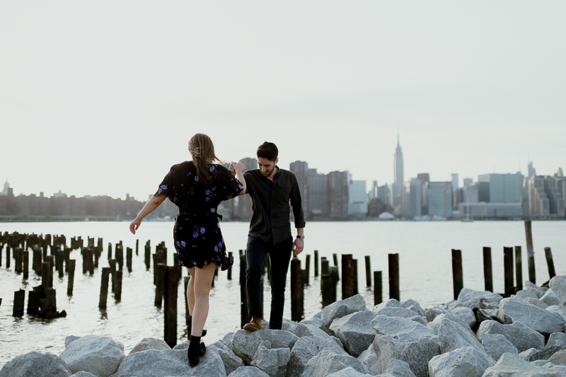brooklyn-photographers-44 Winter Engagement Shoot in Brooklyn