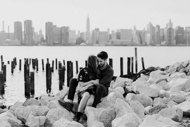 brooklyn-photographers-46 Winter Engagement Shoot in Brooklyn