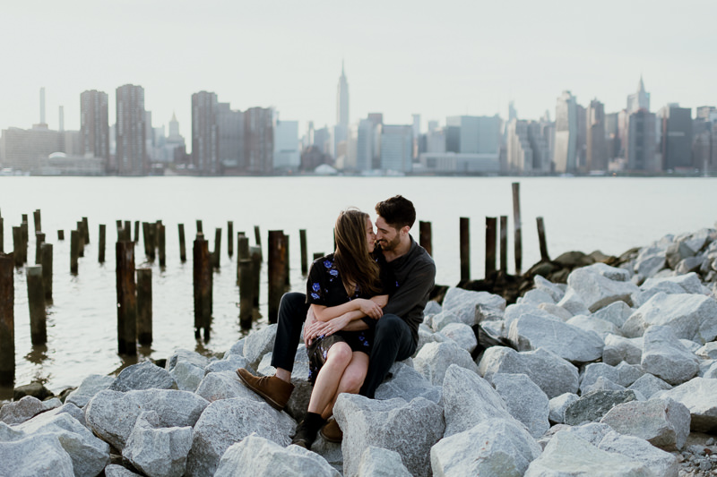 brooklyn-photographers-47 Winter Engagement Shoot in Brooklyn