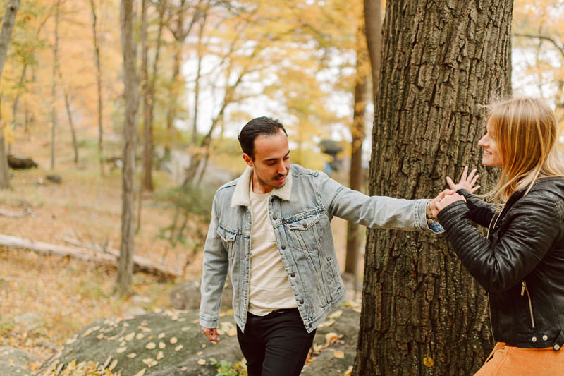 westchester-wedding-photographers-10 Winter Engagement Shoot in Brooklyn