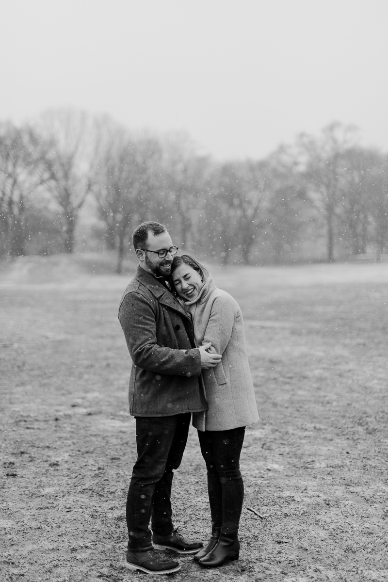 winter-engagement-shoot-in-brooklyn-11 Winter Engagement Shoot in Brooklyn