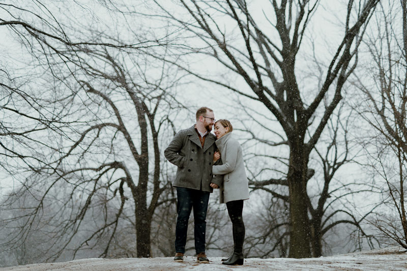 winter-engagement-shoot-in-brooklyn-14 Winter Engagement Shoot in Brooklyn