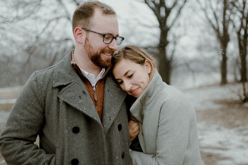 winter-engagement-shoot-in-brooklyn-15 Winter Engagement Shoot in Brooklyn