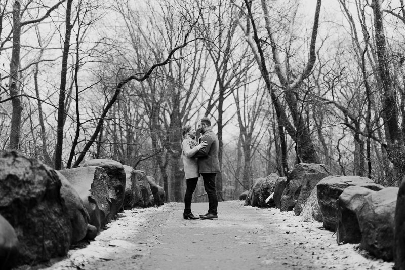winter-engagement-shoot-in-brooklyn-28 Winter Engagement Shoot in Brooklyn